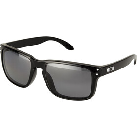 Oakley Holbrook Gafas ciclismo, polished black/grey polarized